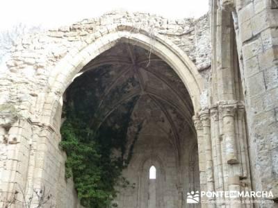 Monasterio de Bonaval - Cañón del Jarama - Senderismo Guadalajara;senderismo en europa